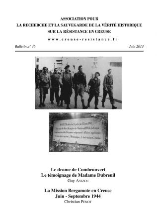 Bulletin 2013 couverture